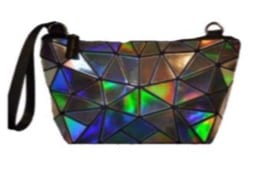 Iridescent Geo Coin Purse