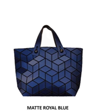 Slanted Square Geo Mini Tote