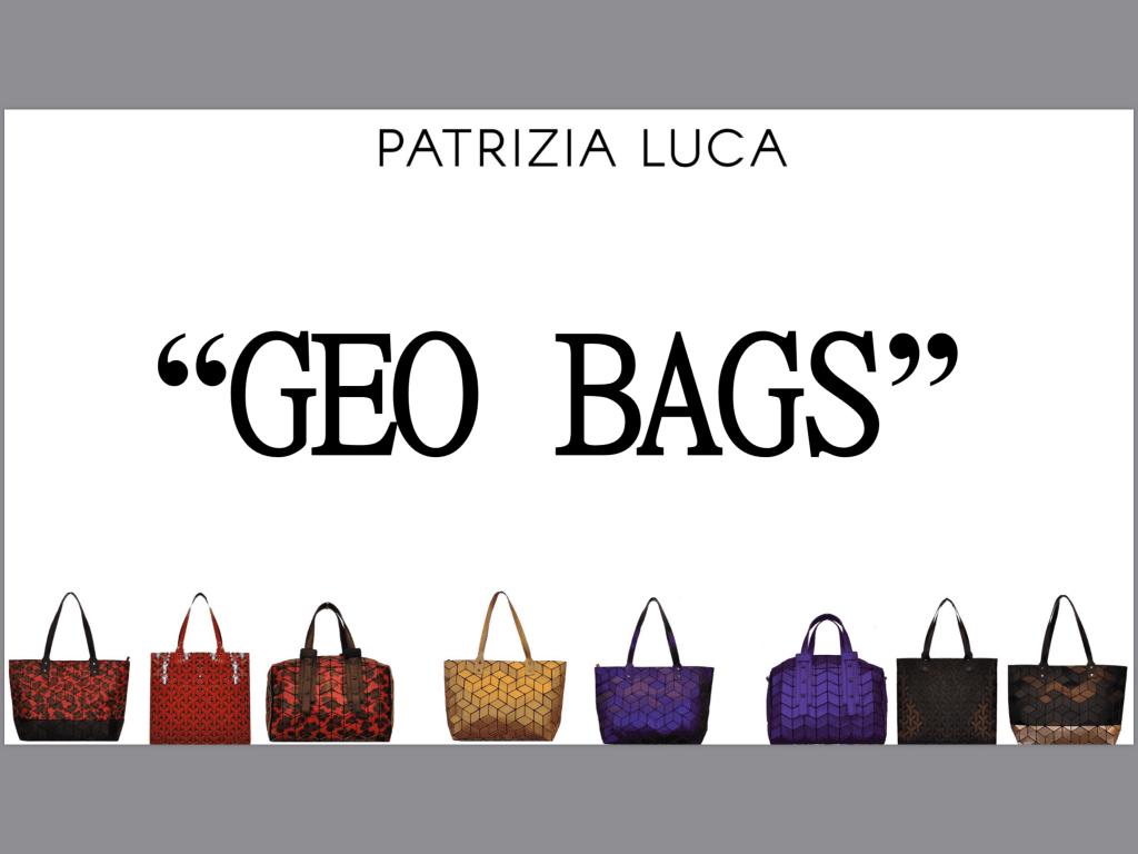 Patrizia Luca Geo Bags