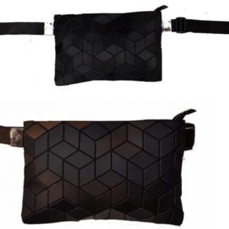 Slanted Square Belt Bag