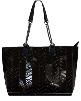 Geo Tote with New Chain Handle