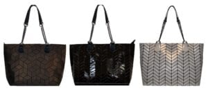 Geo Totes with New Chain Handle